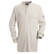SEL2 Long Sleeve Tagless Henley Shirt - EXCEL FR®