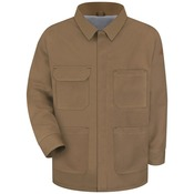 JLC4 Brown Duck Lineman's Coat - EXCEL FR® ComforTouch®