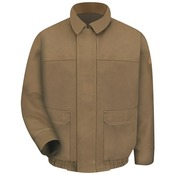 JLB8 Brown Duck Lined Bomber Jacket - EXCEL FR® ComforTouch®