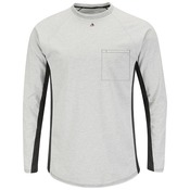 MPS8 Long Sleeve FR Two-Tone Base Layer with Concealed Chest Pocket - EXCEL FR¨
